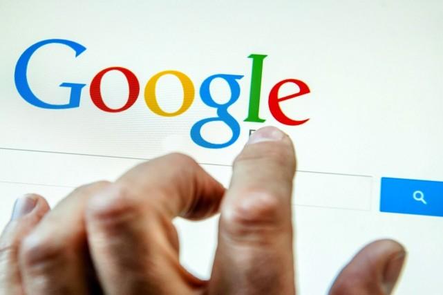 Google précise qu'entre début janvier et début décembre... (PHOTO PHILIPPE HUGUEN, ARCHIVES AFP)