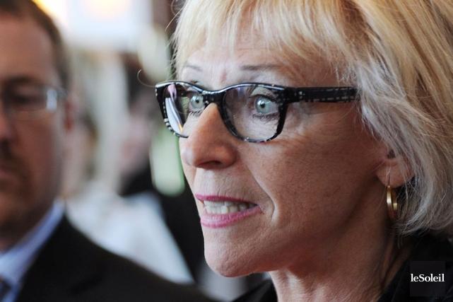 Françoise Bertrand, présidente-directrice générale de la Fédération des... (Photothèque Le Soleil, Erick Labbé)