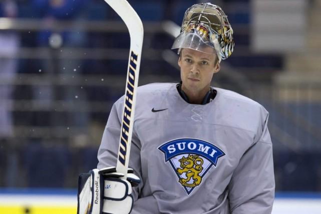Pekka Rinne... (Photo Jacques Boissinot, La Presse Canadienne)
