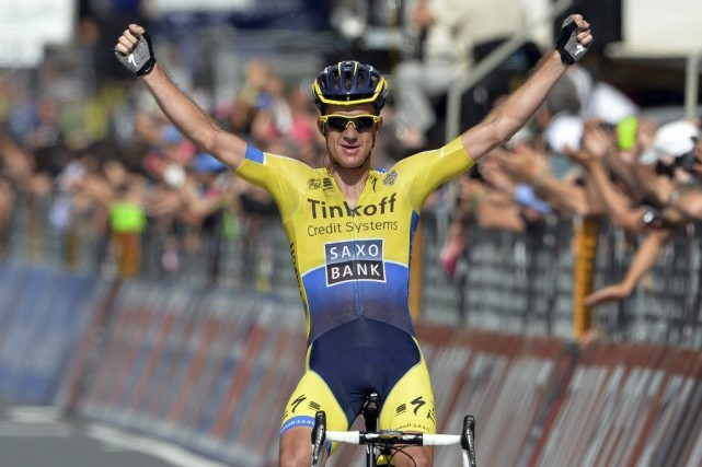 Michael Rogers... (Photo Fabio Ferrari, Associated Press)