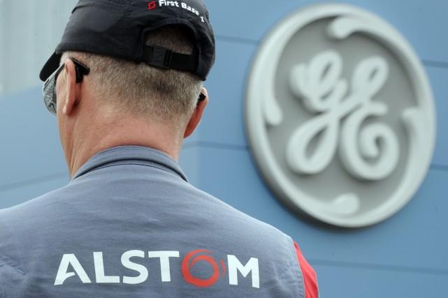 Alstom fait l'objet d'une offre de reprise de... (PHOTO SEBASTIEN BOZON, ARCHIVES AFP)