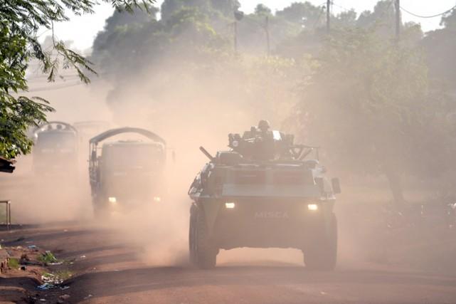 Le Nigeria connaît un déchaînement de la violence... (Archives AFP)