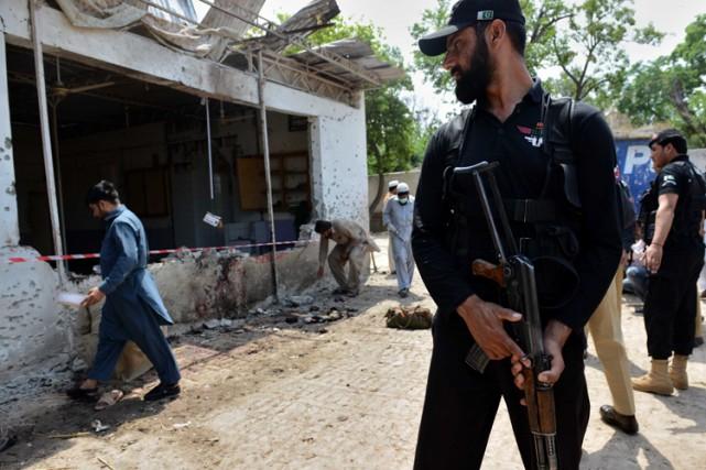 Selon les responsables militaires, les talibans visés étaient... (Archives AFP)