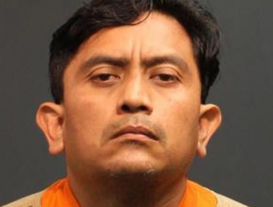 Isidro Garcia, âgé de 41 ans, sur une... (Photo Reuters)