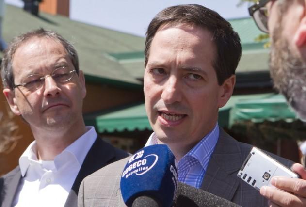 Le chef de l'opposition Stéphane Bédard a estimé... (Photo CLEMENT ALLARD, archives PC)
