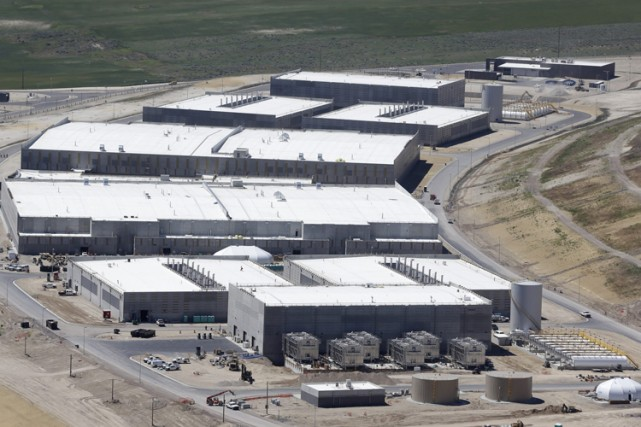 Les installations de la NSA àBluffdale, en Utah.... (Archives AP)