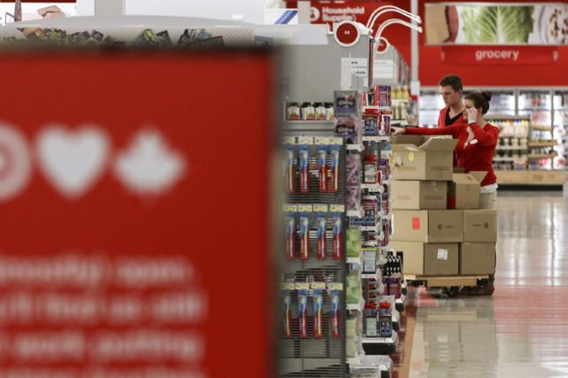 Target sait fort bien qu'il «déçoit les Canadiens» et la chaîne demeure... (PHOTO ARCHIVES REUTERS)