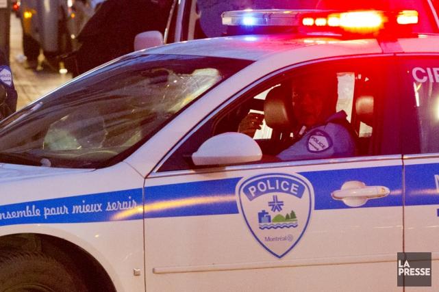 Quatre hommes de 19 à 22 ans ont été arrêtés tôt jeudi matin en lien avec une... (Photo archives La Presse)