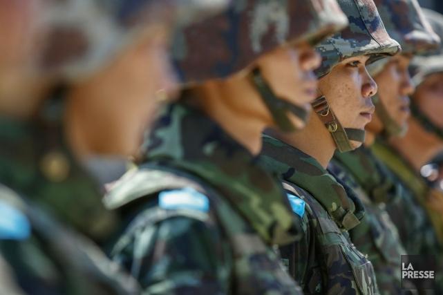 La Thaïlande avait connu jusqu'ici 18 coups d'État... (PHOTO ATHIT PERAWONGMETHA, REUTERS)