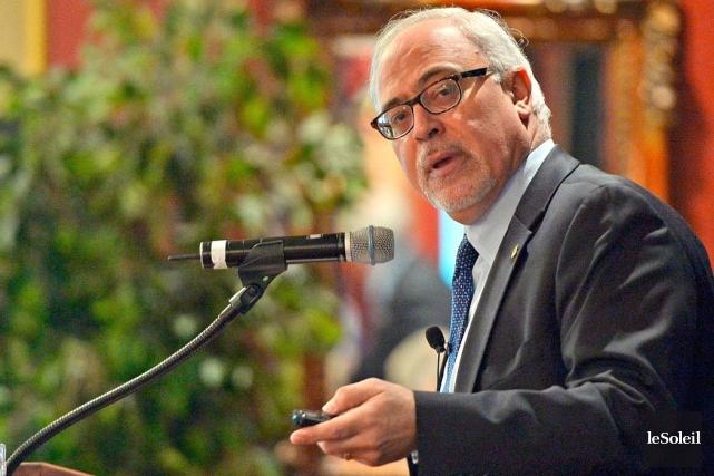 Le ministre des Finances, Carlos Leitao... (Photo Pascal Ratthé, Le Soleil)