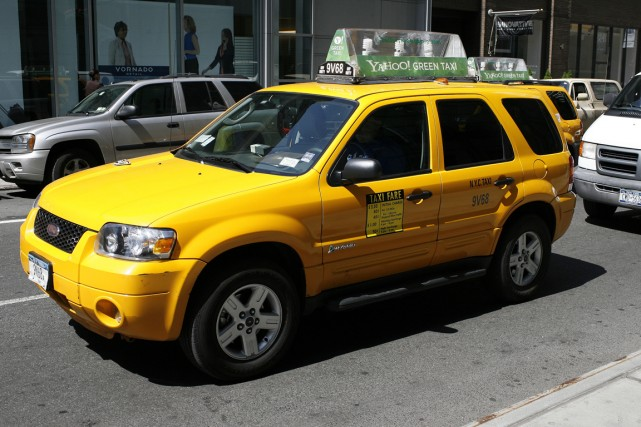 On compte 13 437 taxis à New York,... (Photo archives Bloomberg News)