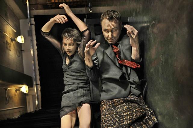 Catherine Tardif et Michel F. Côté.... (Photo: fournie par l'Agora de la danse)