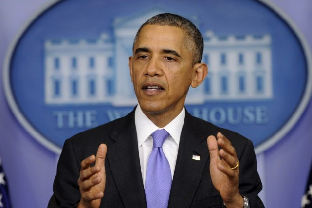 M. Obama souhaite que les États-Unis attirent 100... (Photo Susan Walsh, AP)
