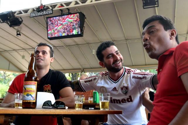 La Coupe du monde de football devrait faire... (Photo EVARISTO SA, AFP)
