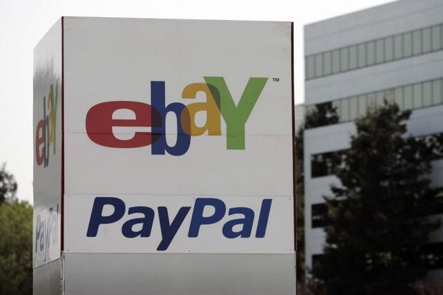 Le siège social de PayPal, propriété d'eBay, à... (Photo: AP)