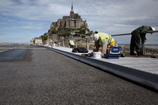 Classé dans le patrimoine mondial de l'UNESCO, le... (PHOTO CHARLY TRIBALLEAU, AFP)