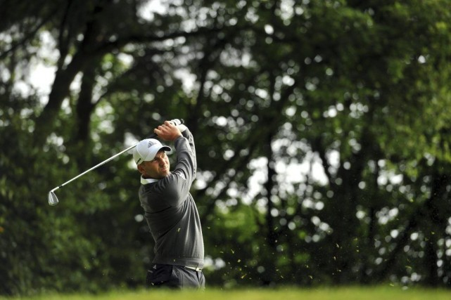 Sergio Garcia... (Photo Glyn Kirk, Agence France-Presse)