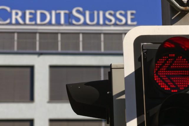 Lundi soir, Credit Suisse a reconnu avoir aidé... (Photo ARND WIEGMANN, Reuters)