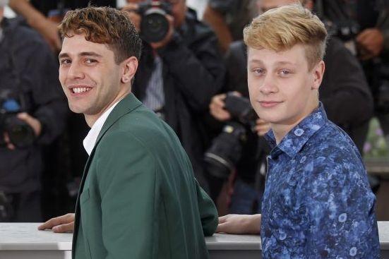 Antoine Olivier Pilon (à droite) en compagnie de... (Photo: Reuters)