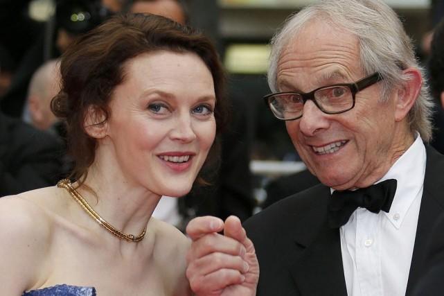 Ken Loach en compagnie de son actrice Simone... (Photo: Reuters)