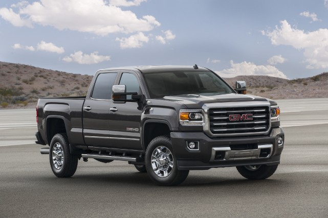 Le GMC Sierra 2500HD All Terrain... (Photo fournie par General Motors)