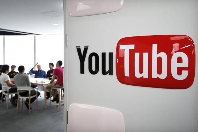 YouTube s'est déjà entendu avec trois des plus... (PHOTO ARCHIVES BLOOMBERG)