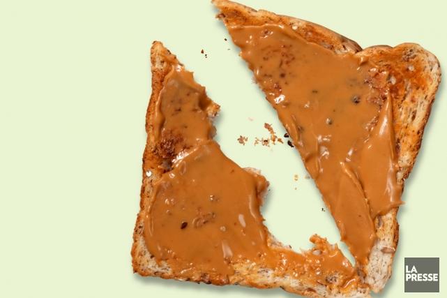 Le Québec craque pour le beurre d'arachide. Selon un sondage réalisé par... (Photomontage La Presse)