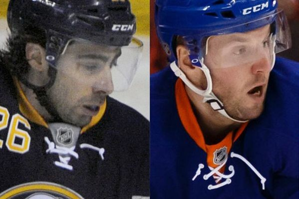 Matt Moulson et Thomas Vanek... (Photos AP et USA Today)