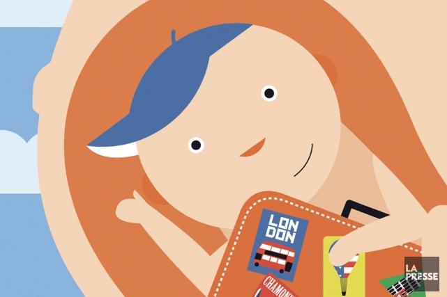 Une deuxième petite ligne vient d'apparaître sur votre test de grossesse.... (Illustration Julien Chung, La Presse)