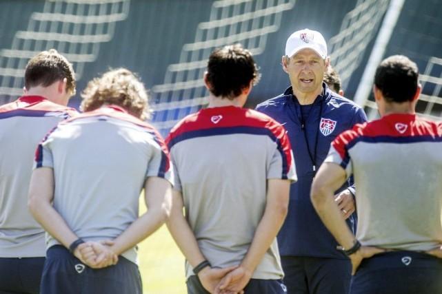 Jürgen Klinsmann, sélectionneur de l'équipe américaine.... (Photo Reuters)
