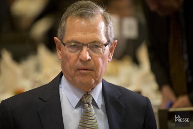 Jean-René Halde, président et chef de la direction... (Photo Ivanoh Demers, archives La Presse)