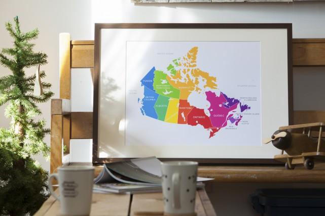 Les cartes géographiques recèlent d'indéniables beautés. De quoi inspirer... (Photo fournie par Bess Callard)