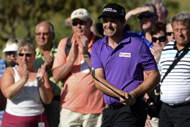 Padraig Harrington... (Photo d'archives AFP)