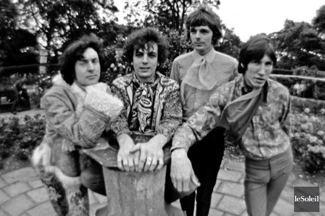 Le Pink Floyd des débuts: Nick Mason, Syd... (Archives Le Soleil)