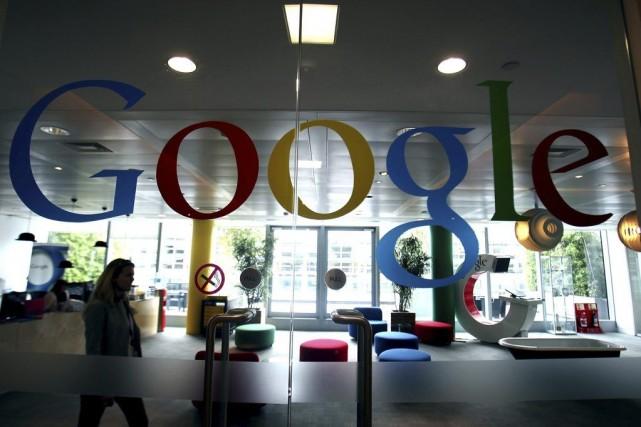 Le géant d'internet Google développe une nouvelle tablette avec des capacités... (Photo Simon Dawson, Bloomberg)