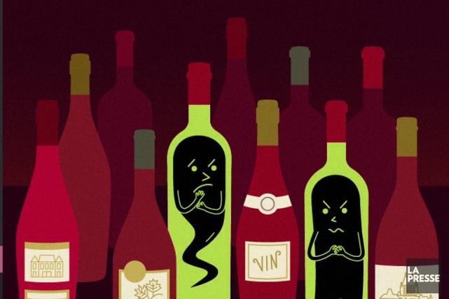 Tous les goûts sont dans la nature. Pour certains, les rouges très chargés en... (Illustration Marie Leviel, La Presse)