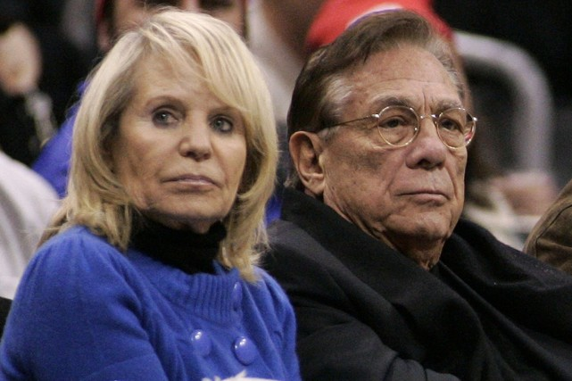 Donald Sterling avec sa femme, Shelly.... (Photo Danny Moloshok, archives Reuters)