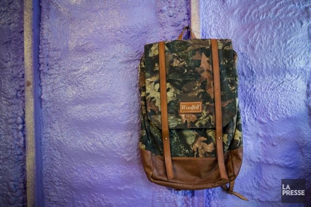 Si les sacs à dos Herschel sont des incontournables dans la garde-robe des... (PHOTO EDOUARD PLANTE-FRÉCHETTE, LA PRESSE)