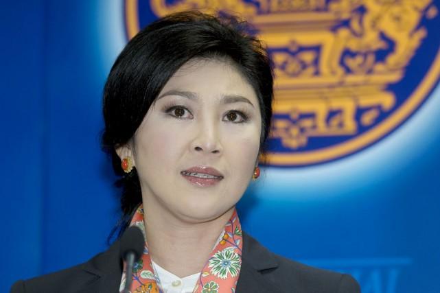 L'ex-première ministre Yingluck Shinawatra, à Bangkok, le 7... (PHOTO PORNCHAI KITTIWONGSAKUL, ARCHIVES AFP)