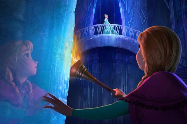La dernière superproduction de Disney, La reine des... (Photo fournie par Disney)
