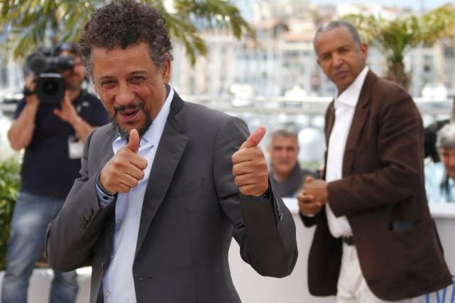 L'acteur Abel Jafri et son réalisateur Abderrahmane Sissako.... (Photo: Reuters)
