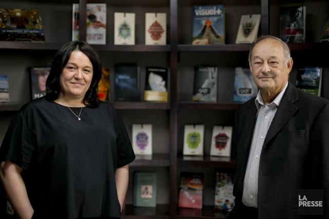 Le fondateur de la maison d'édition Québec Amérique,... (Photo: David Boily, La Presse)