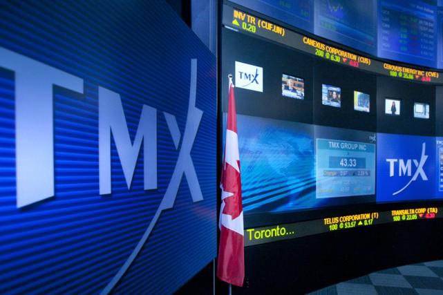 Le Groupe TMX(T.X), qui chapeaute les Bourses de Toronto et... (PHOTO ARCHIVES BLOOMBERG)