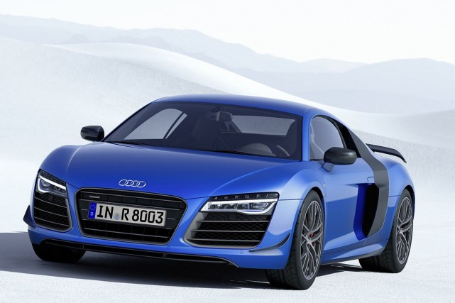 La Audi R8 LMX... (Photo fournie par Audi)