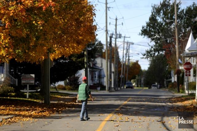 Comment identifier les territoires en dehors de Montréal... (Photo Bernard Brault, archives La Presse)