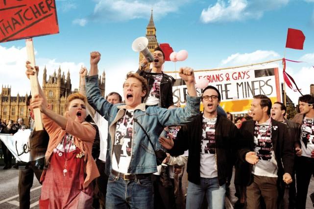 Priderelate l'alliance des mineurs en grève et des... (Photo de la production)