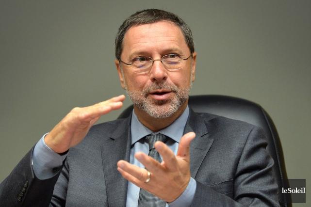 Le président du Conseil du patronat, Yves-Thomas Dorval... (Photothèque Le Soleil, Patrice Laroche)
