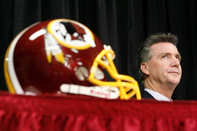 Le président des Redskins de Washington, Bruce Allen.... (Photo Molly Riley, archives Reuters)