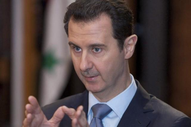Le président syrien Bachar al-Assad.... (Photo d'archives)
