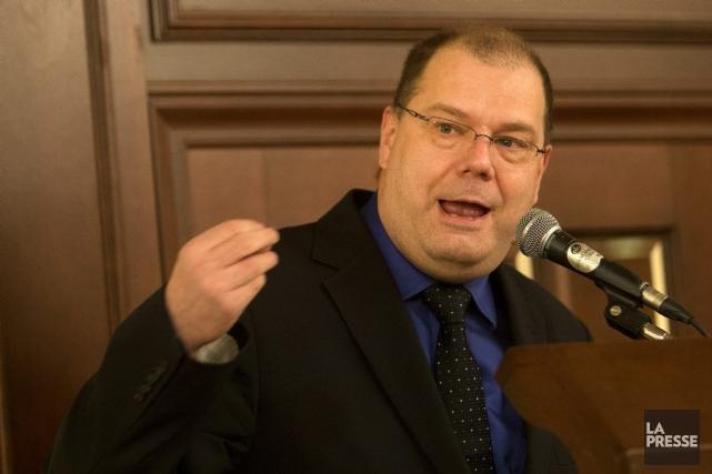 Mario Beaulieu, candidat à la direction du Bloc... (PHOTO ROBERT SKINNER, ARCHIVES LA PRESSE)